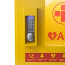 Secure mechanical code lock prevents unauthorised use