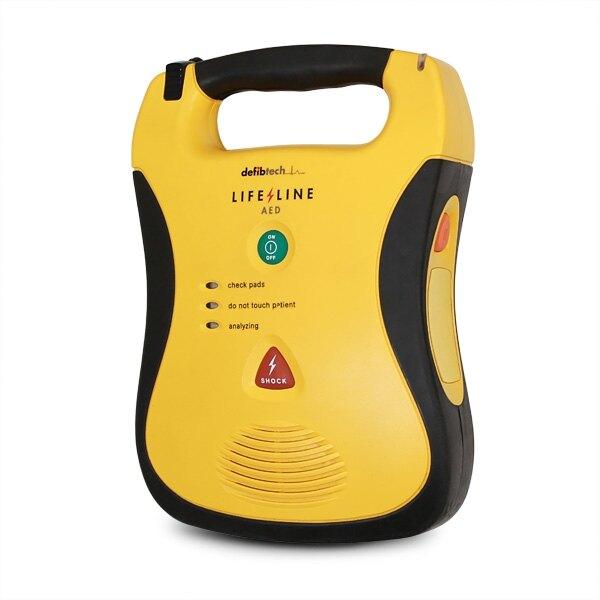 Defibtech Lifeline AED semi-automatic defibrillator