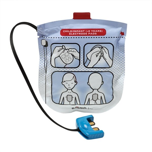 Defibtech Lifeline View, ECG & Pro Paediatric Defibrillator Pads