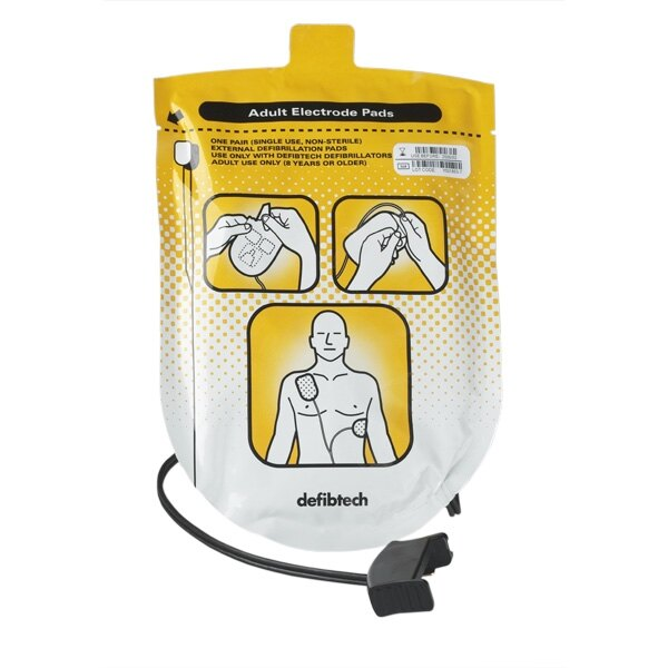 Defibtech Lifeline AED & Auto Adult Defibrillator Pads