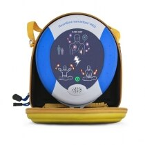 The HeartSine Samaritan PAD 360P is supplied with a soft carry case