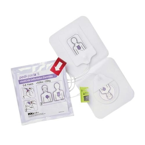 Zoll AED Plus Paediatric padz II  Defibrillator Pads