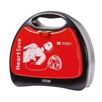 Primedic HeartSave AED features an easy to remove lid