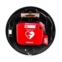 The cabinet is suitable for Cardiac Science, Zoll, Philips and Physio-Control AEDs