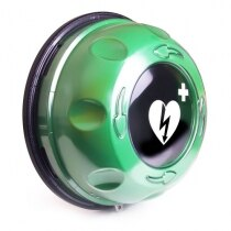 Rotaid Solid Plus Heat LED Defibrillator Cabinet