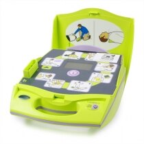 The Zoll has easy to follow pictorials for each step of treatment