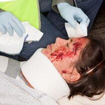 Trainees increase their knowledge of basic first aid skills