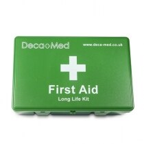 All contents of the DecaMed first aid kit have been tested and are CE marked