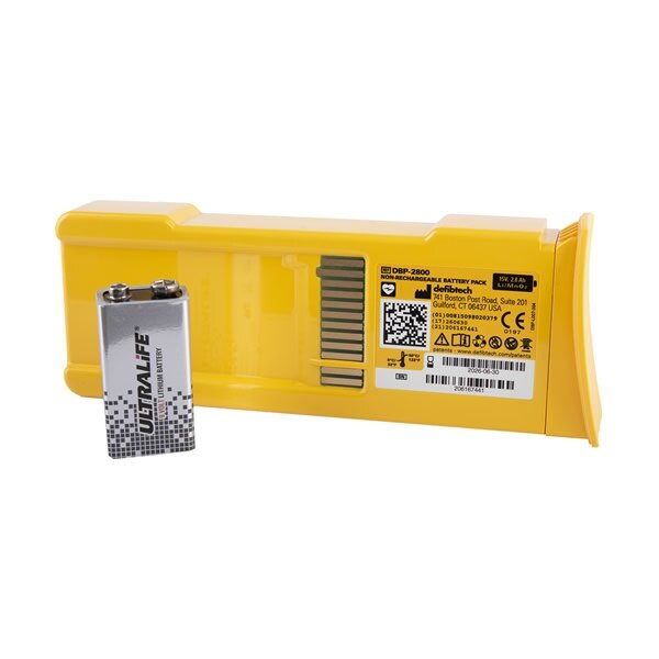 Defibtech Lifeline AED & Auto High Capacity Battery Pack
