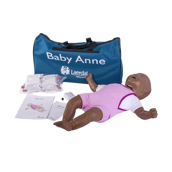 Laerdal Baby Anne CPR Training Manikin with Soft Pack - Dark Skin