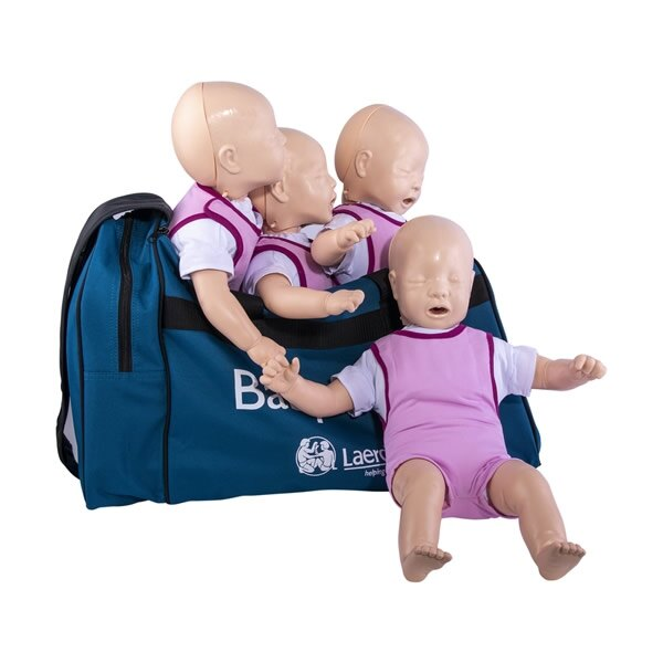 Laerdal Baby Anne CPR Training Manikin Four Pack - Light Skin