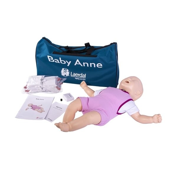 Laerdal Baby Anne CPR Training Manikin with Soft Pack - Light Skin