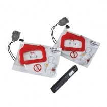 Physio-Control Lifepak Electrode and CHARGE-PAK replacement kit - 2 pairs of pads