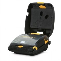 Physio-Control Lifepak CR Plus defibrillator with protective carry case