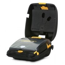 Physio-Control Lifepak CR Plus defibrillator complete with protective carry case