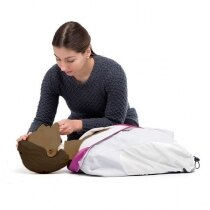 The Laerdal Little Anne has a life-like torso for realistic training