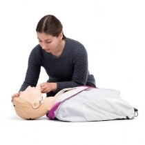 Provides trainees with hands-on experience of performing realistic CPR