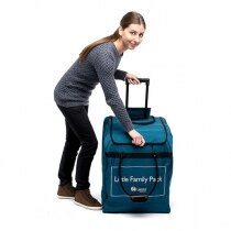 Laerdal Little Family of manikins are supplied with a wheeled carry bag