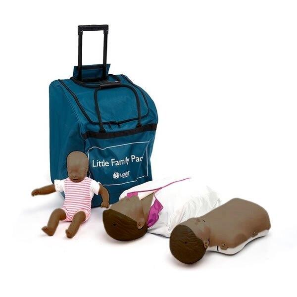 Laerdal Little Family Training Manikin Pack - Dark Skin