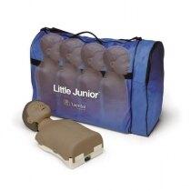 Laerdal Little Junior CPR Training Manikin Four Pack - Dark Skin