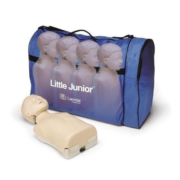 Laerdal Little Junior CPR Training Manikin Four Pack - Light Skin