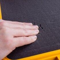 Pick & Pluck foam for maximum protection
