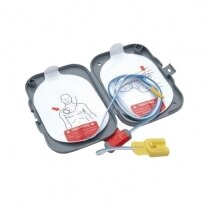 The HeartStart FRx defib training pads are supplied as a pair