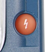Philips HeartStart HS1 shock button