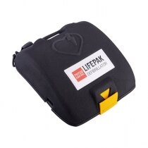 Protects the defibrillator from impact damage