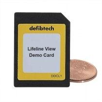 Defibtech Lifeline View Defibrillator Demo Card
