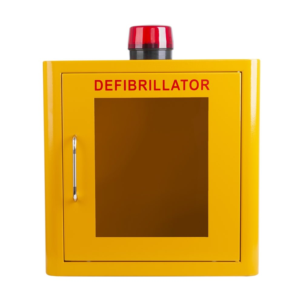 Yellow Indoor Cabinet with Strobe Light and Alarm