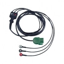 Image of the Physio-Control Lifepak 1000 Defibrillator 3-lead ECG Cable