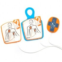 Image of the Cardiac Science Powerheart G5 Defibrillator Training Pads with CPR Device