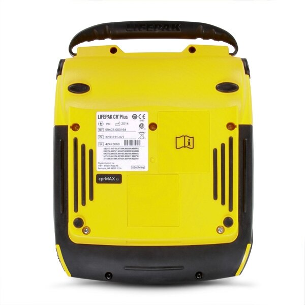 Physio-Control Lifepak CR Plus defibrillator rear view