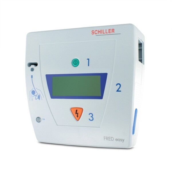 Schiller FRED Easy Semi-Auto Defibrillator Package