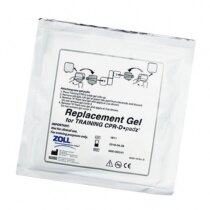 Image of the Zoll AED Plus Replacement Training Gel Pads - 5 pairs