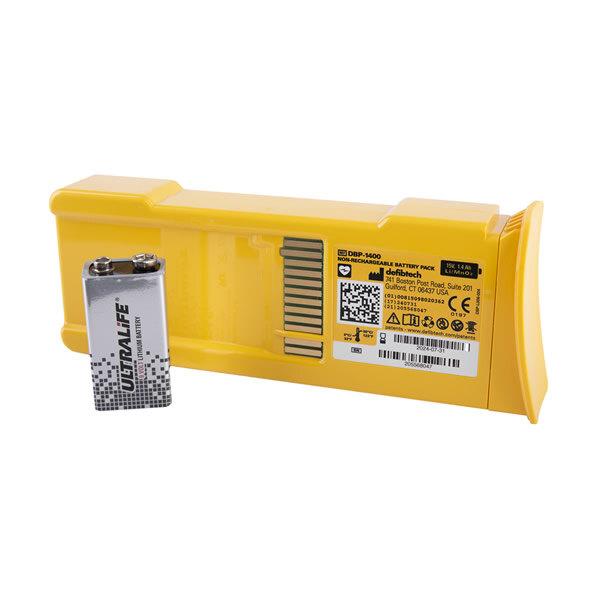 Defibrillator Batteries & Chargers