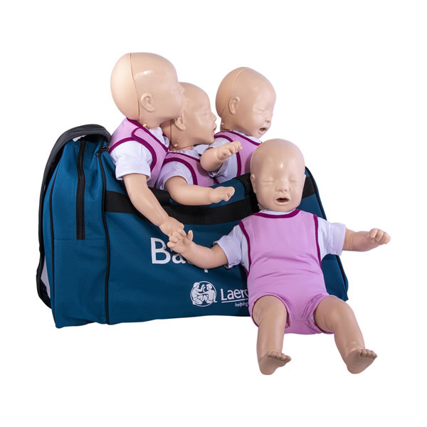 Image of the Laerdal Baby Anne CPR Training Manikin Four Pack - Light Skin
